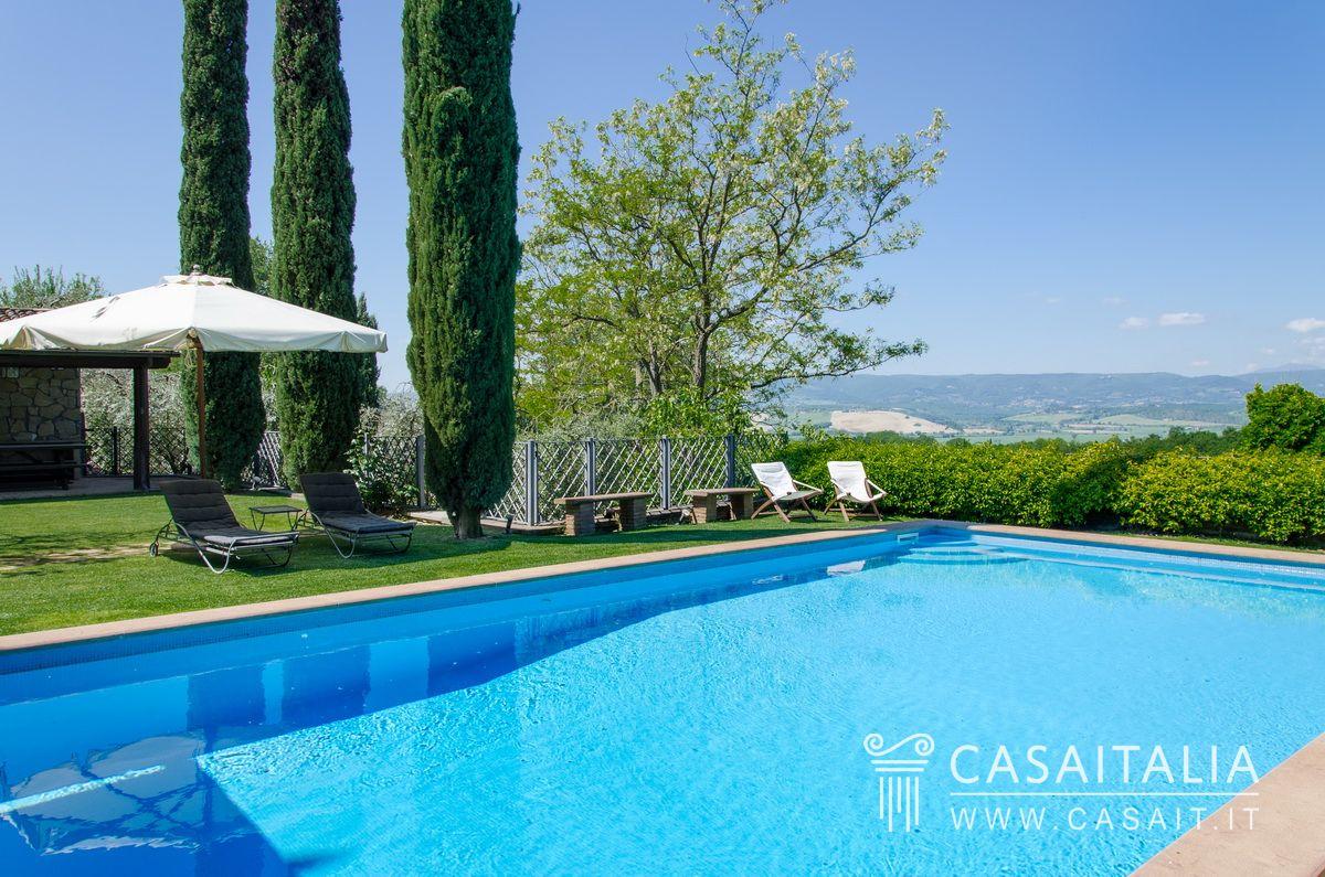 Vendita casale pietra ristrutturato umbria toscana - Hotel con piscina umbria ...