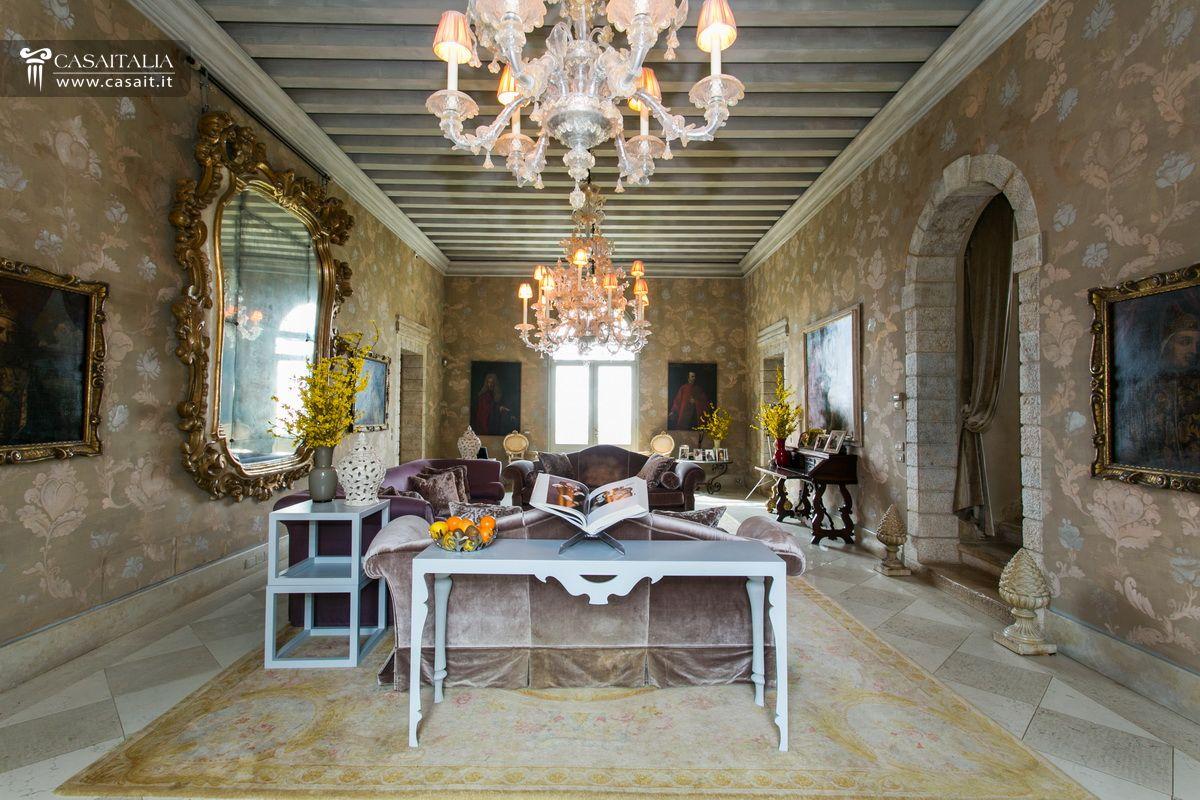 Veneto asolo villa di lusso con vigneto in vendita for Ville interni