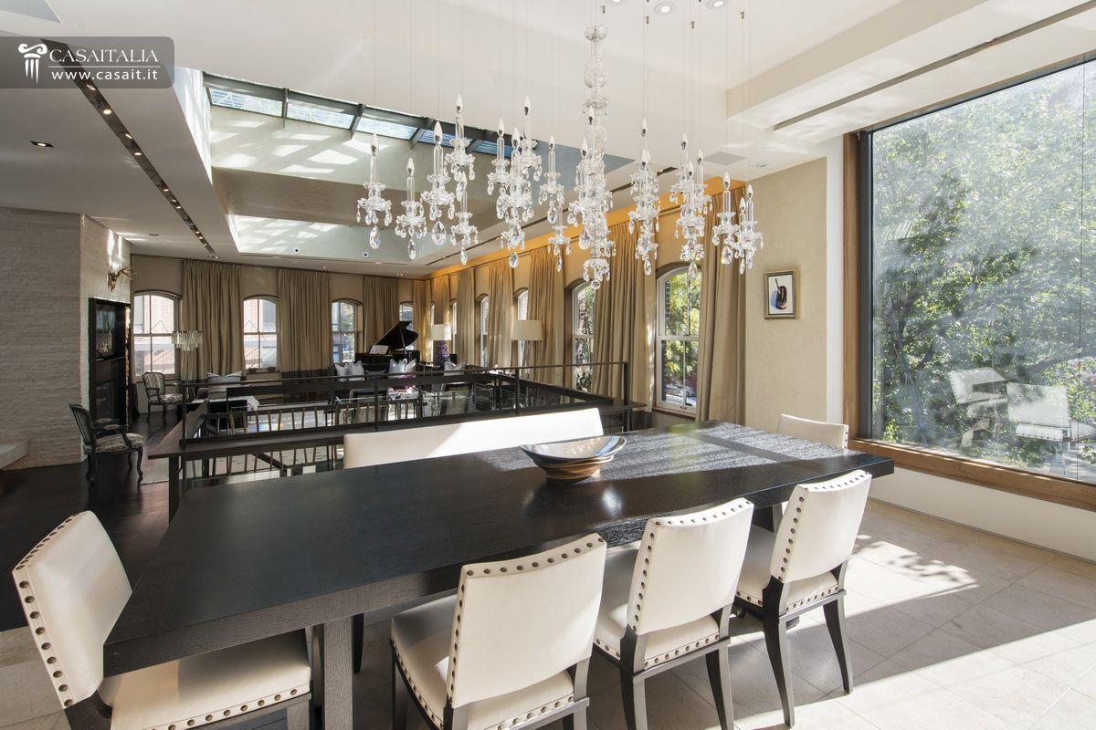 Palazzo Di Lusso In Vendita A Manhattan Tribeca #996C32 1200 800 Sala Da Pranzo Versace