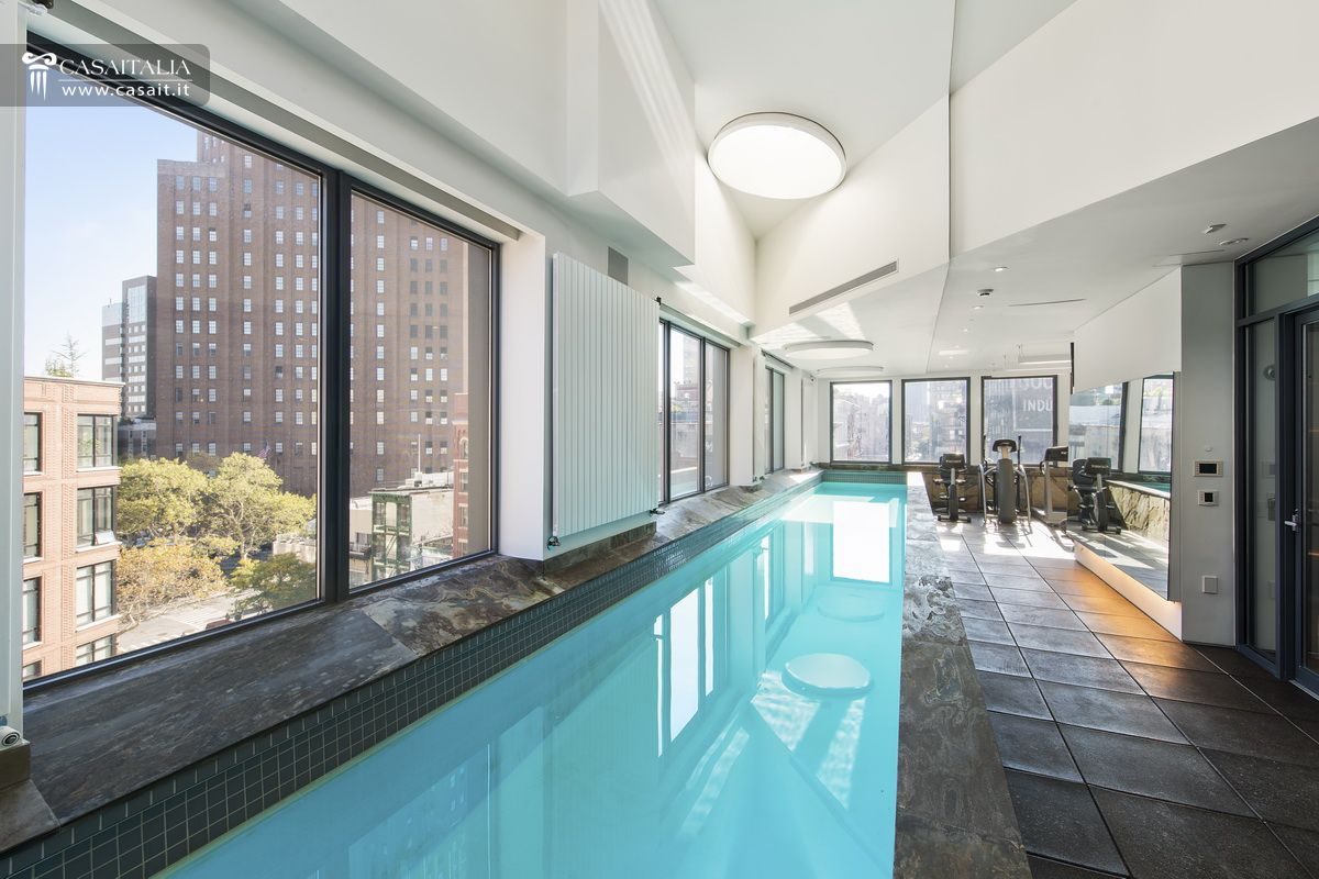 Palazzo Lusso Vendita Manhattan Tribeca New%20york IC65 on Small Indoor Swimming Pool