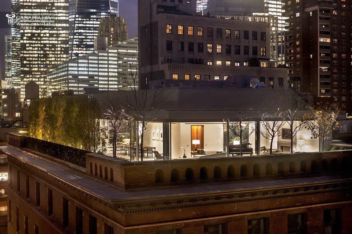 Attico di lusso con terrazzo e piscina in vendita a tribeca for Appartamenti a manhattan new york