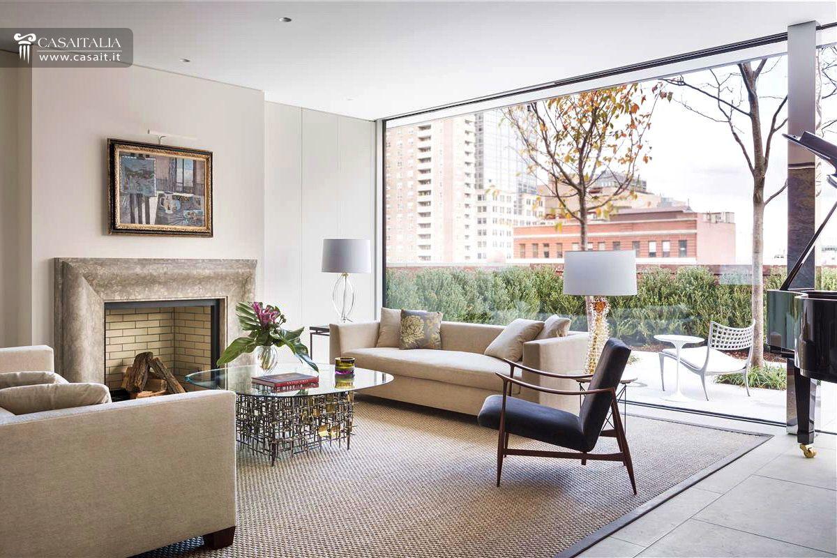 Attico di lusso con terrazzo e piscina in vendita a tribeca for Appartamenti lusso new york