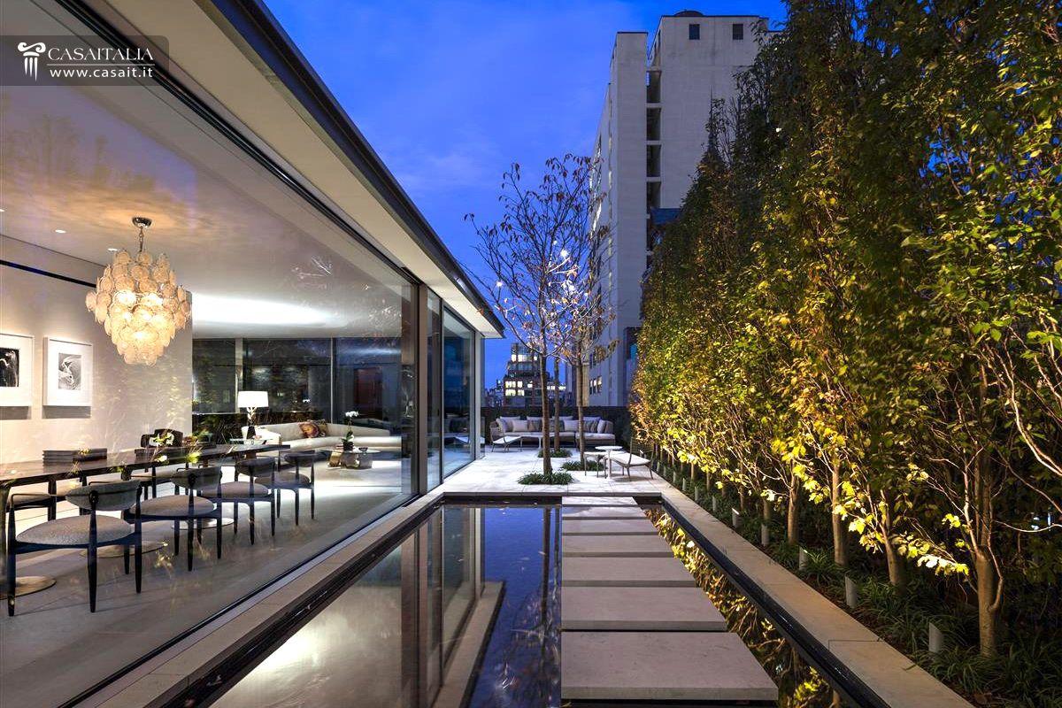 Attico di lusso con terrazzo e piscina in vendita a tribeca for Penthouse for sale nyc