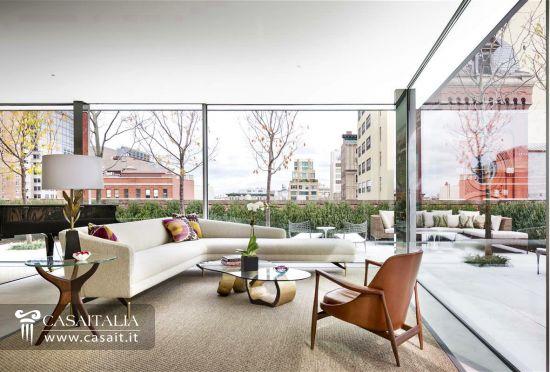 Appartamento in vendita a tribeca new york for Attico new york vendita