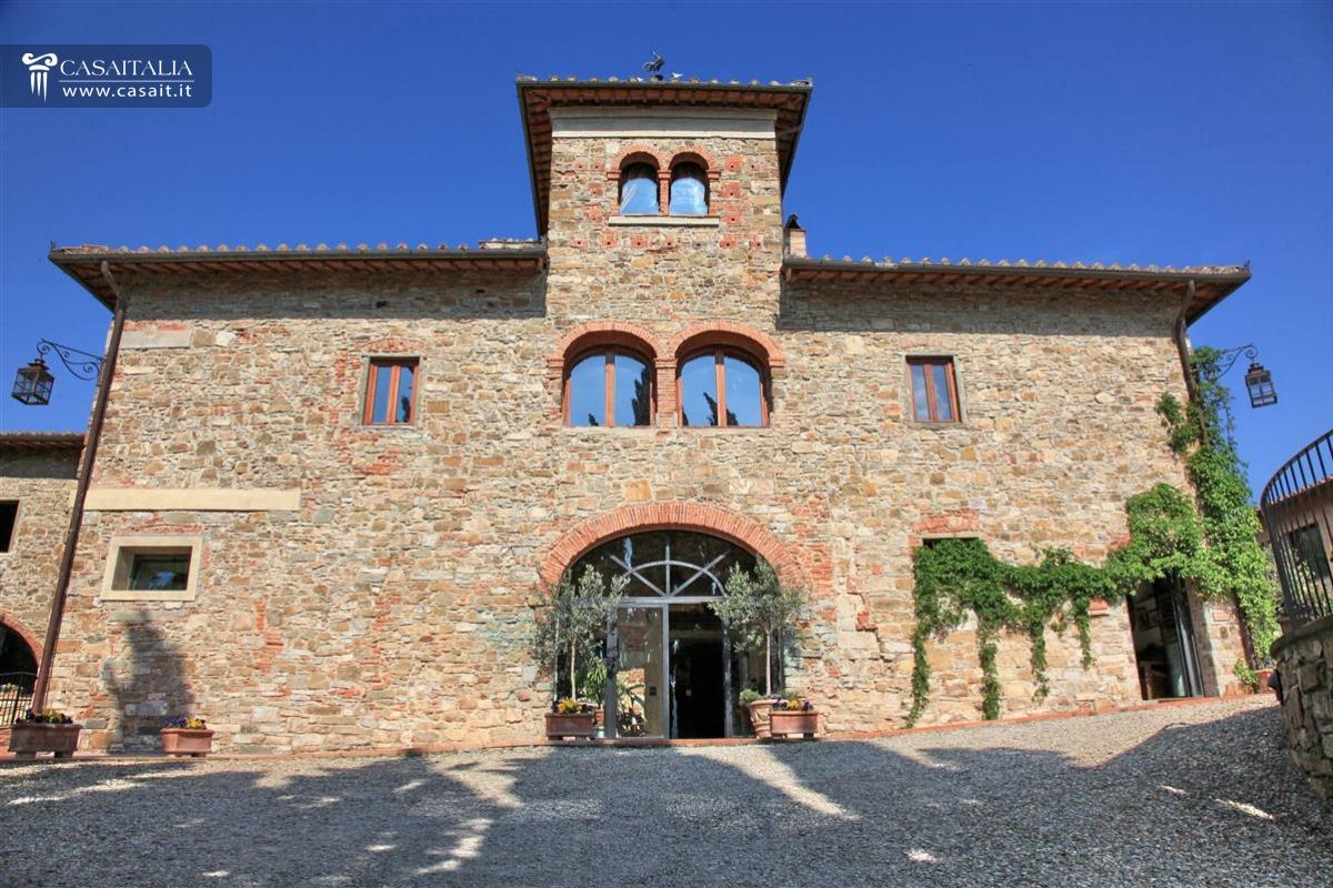 Azienda vinicola in vendita in toscana chianti for Planimetrie della villa toscana