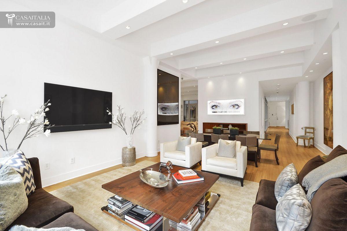 Appartamento di lusso in vendita a tribeca manhattan for Appartamenti design