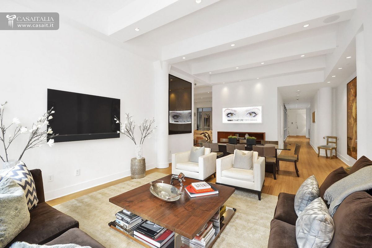 Appartamento di lusso in vendita a tribeca manhattan for Immagini di appartamenti ristrutturati
