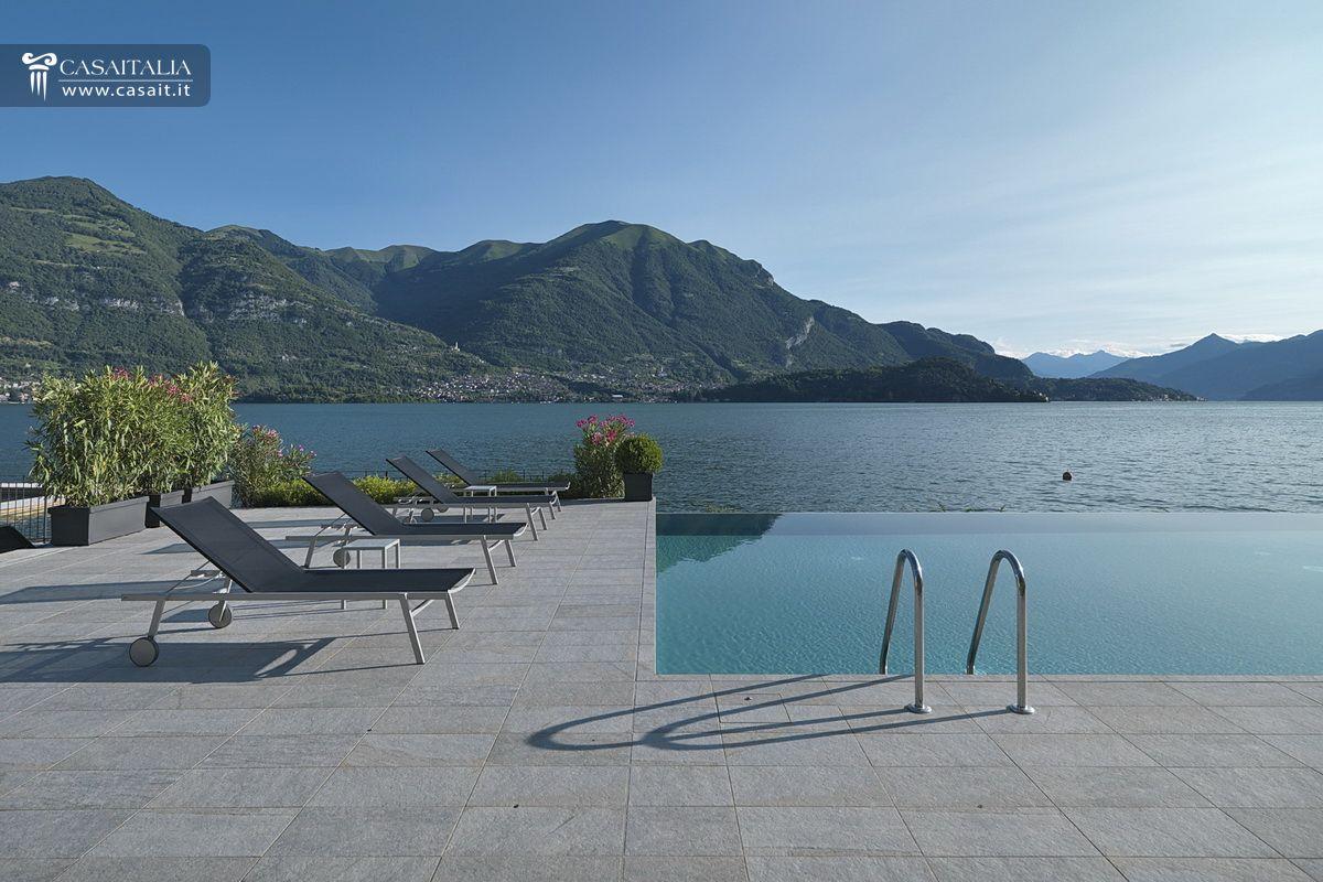 Attico di lusso in vendita sul lago di como - Attico con piscina ...