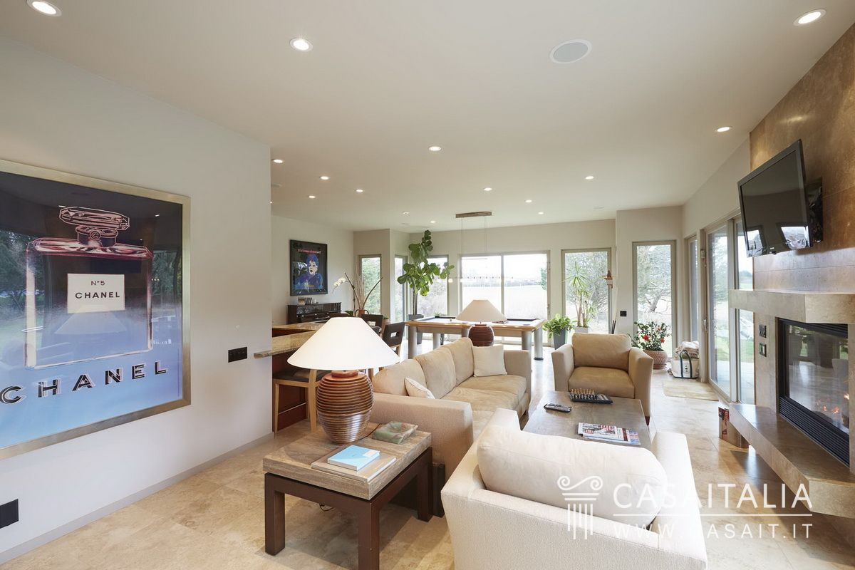 Salotto Classico Arredamento Con Camino: Arredare Salotto Moderno  #426589 1200 800 Mobili Sala Da Pranzo Moderni