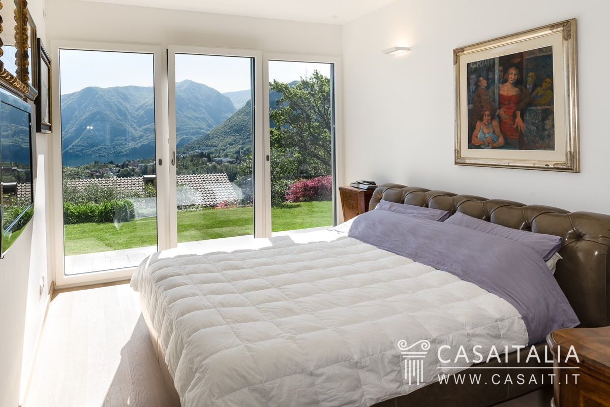 Appartamento vista lago in vendita a 5 km da Lugano