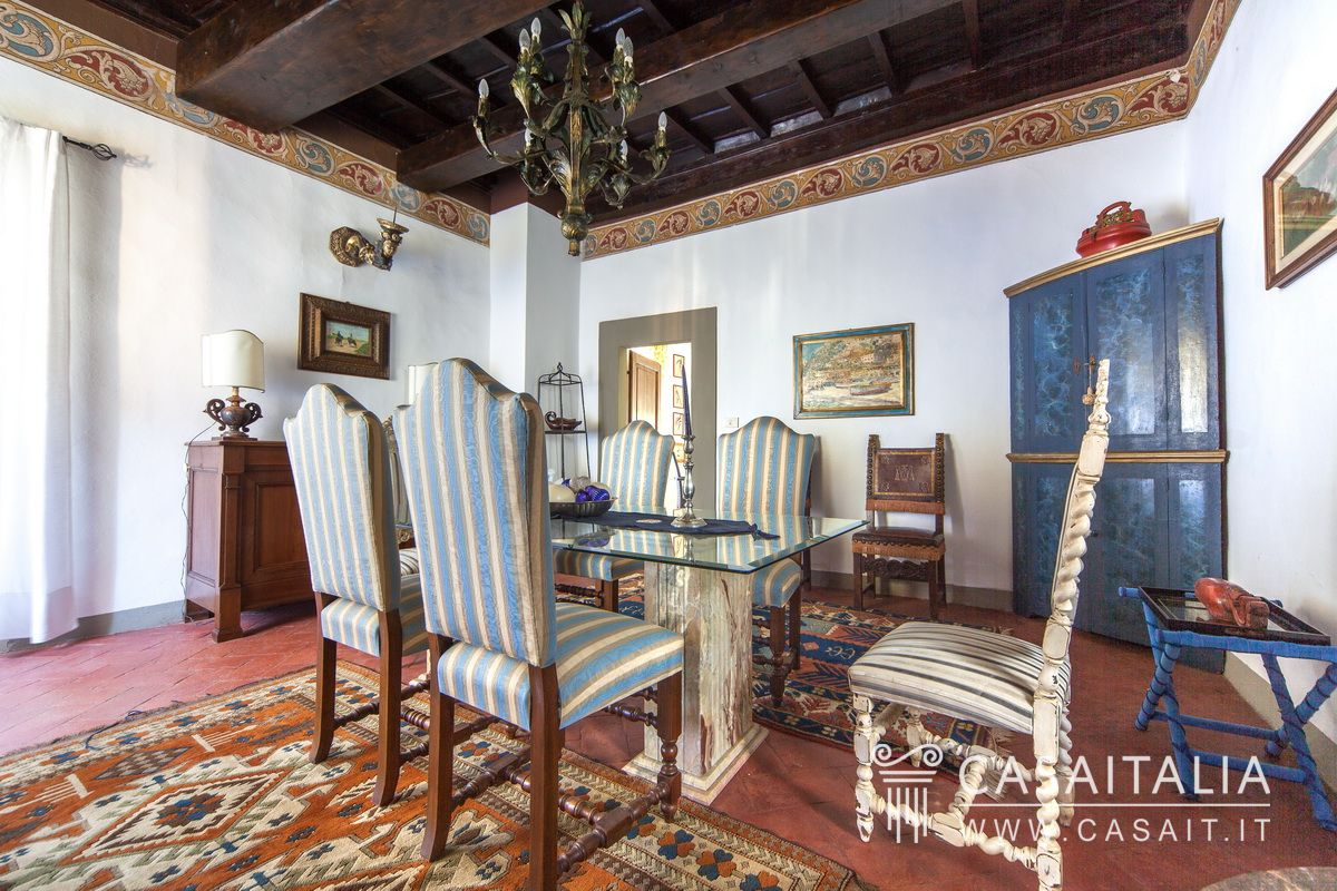 Villa Con Dependance E Piscina In Vendita In Toscana #724537 1200 800 Sala Da Pranzo Antica Roma