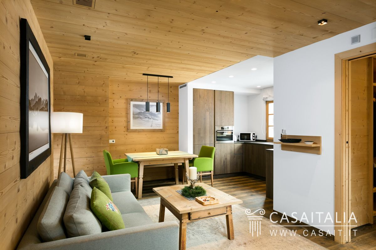 Appartamento in vendita nel centro di corvara in badia - Residence val badia con piscina ...