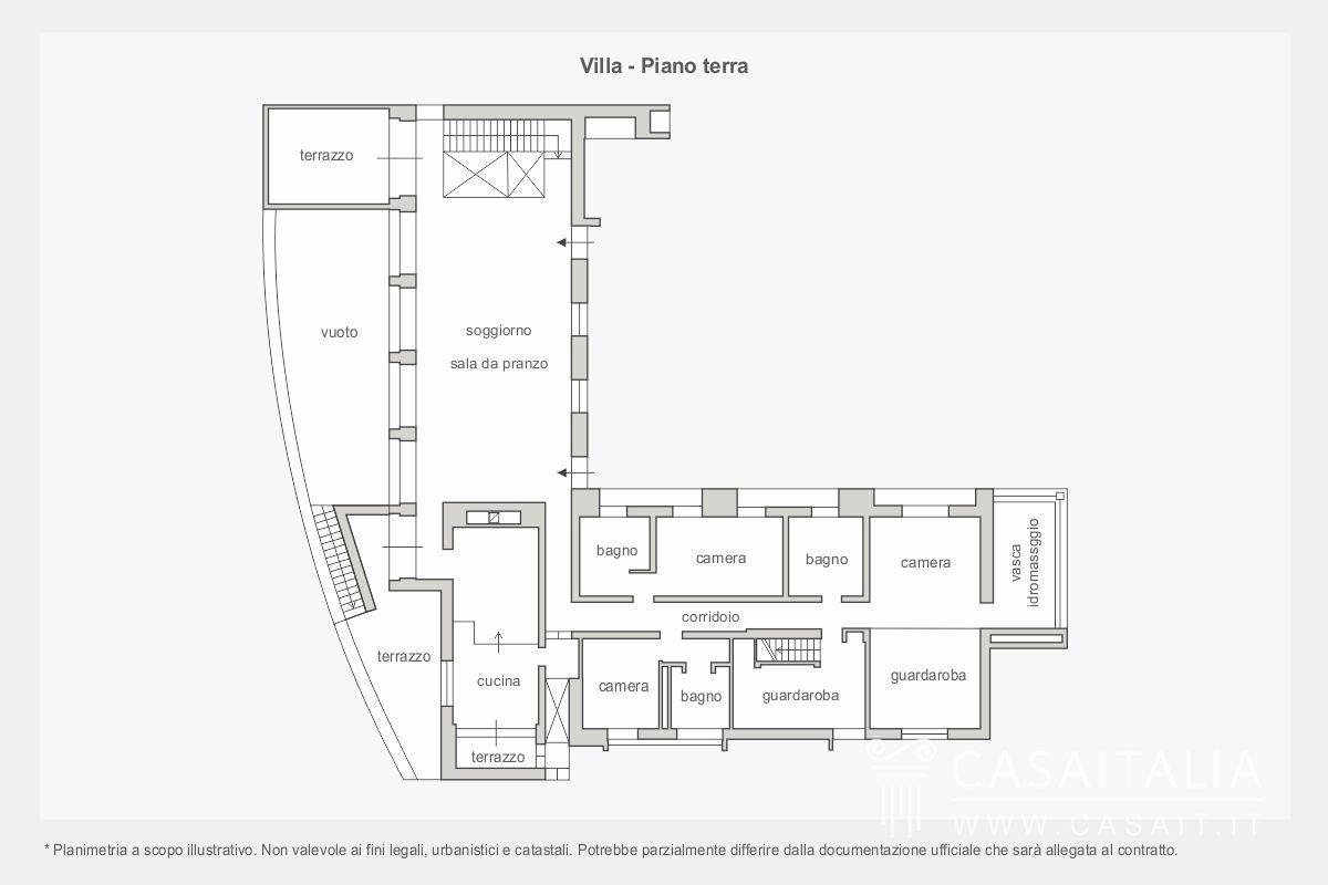Villa di lusso con giardino in vendita a Conegliano