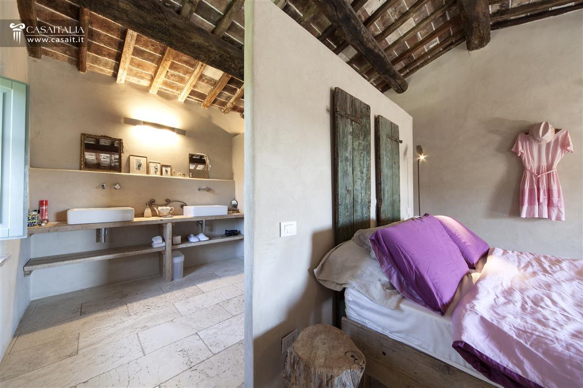 Toscana val d 39 orcia casale di lusso in vendita - Bagno in camera ...